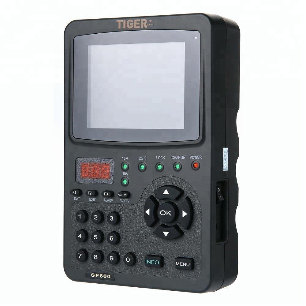 Tiger Satellite Finder SF600 with 3.5 Inch High definition TFT LCD Screen dvb-s2
