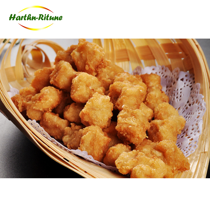 Safety and sanitary halal breaded chicken nuggets