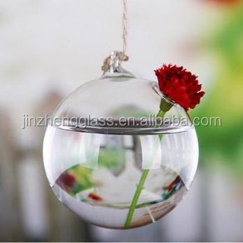 Unique Hanging Glass Flower Vasesair Plant Glass Terrarium For