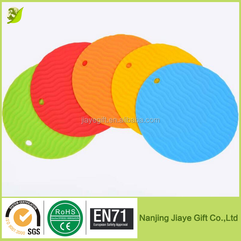 Round Heat Resistant Silicone Table Mat