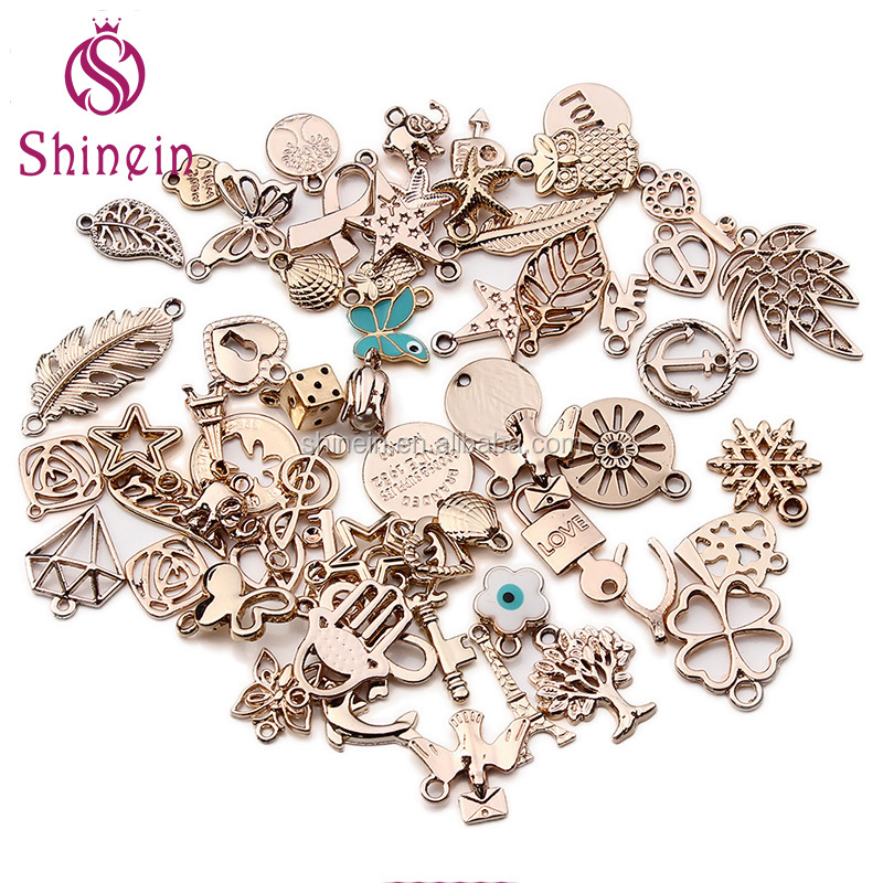 Wholesale new design mixed metal <strong>pendants</strong> for jewelry DIY