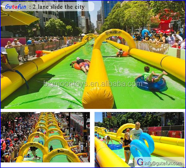 Custom Inflatable Slip N Slide