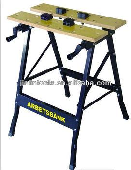 Plegable mesa de trabajo de acero mesa de trabajo para for Mesa herramientas