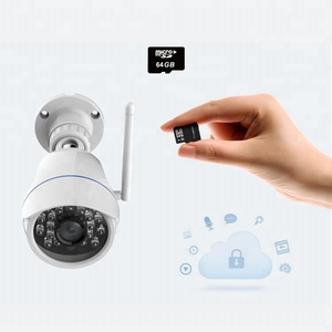 Wireless WIFI Controlled Home Outdoor Security Camera Supports Alexa Echo and Google Home