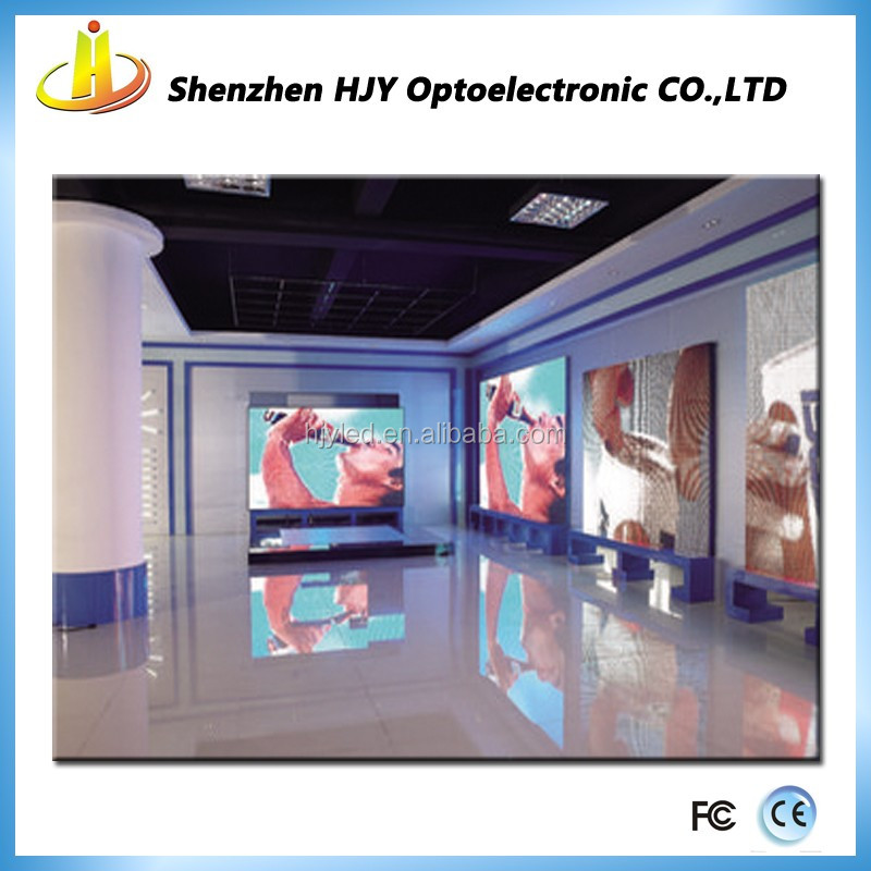 cheap full color video wall large indoor p4 led numeric display