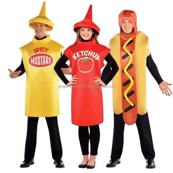 erwachsene lustige tomaten kostum kostum kostume outfit sexy hot dog kostum agm2719