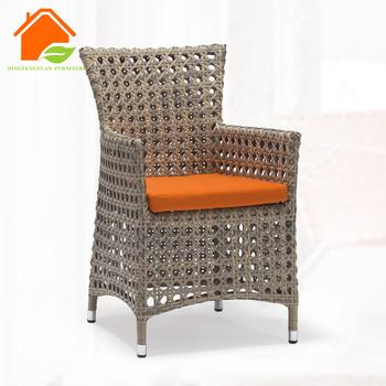 Rattan Wicker Tub Chairs Metal Frame Rattan Garden Chair