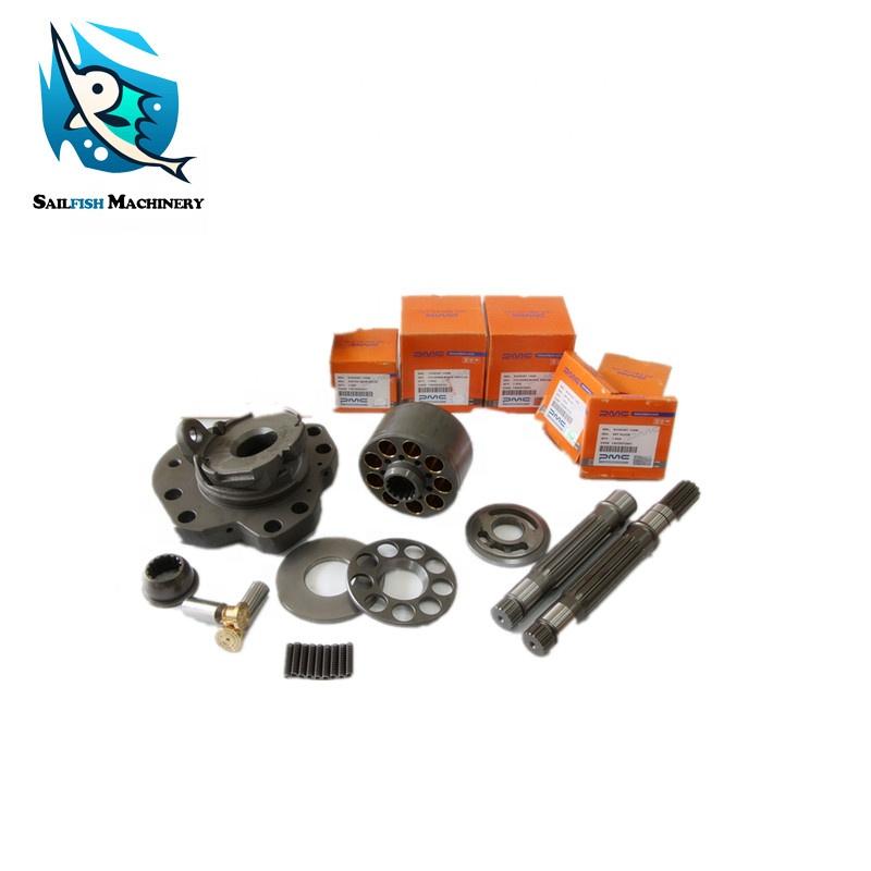 KAWASAK replacement K3V63 hydraulic main pump spare parts pump repair kits for KOBELCO SK120-5 SUMITOMO SH258 HYUNDAI R150