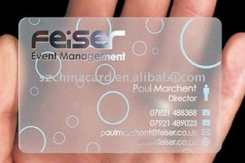 Clear plastic business card with silver hot stamping buy clear clear plastic business card with silver hot stamping colourmoves