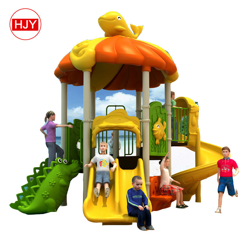 Most popular and New outdoor playground slide /Customized kids playground