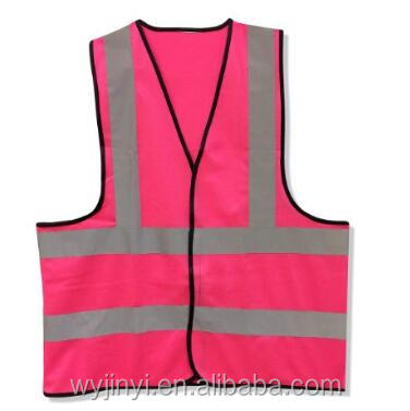 3M high visibility tape women vest pink reflective vest