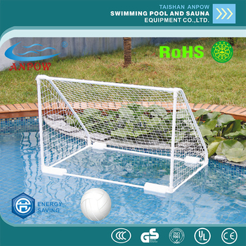 China swimming pool wholesale price oem gym equipment water polo goal water soccer football for Bulk water delivery for swimming pools
