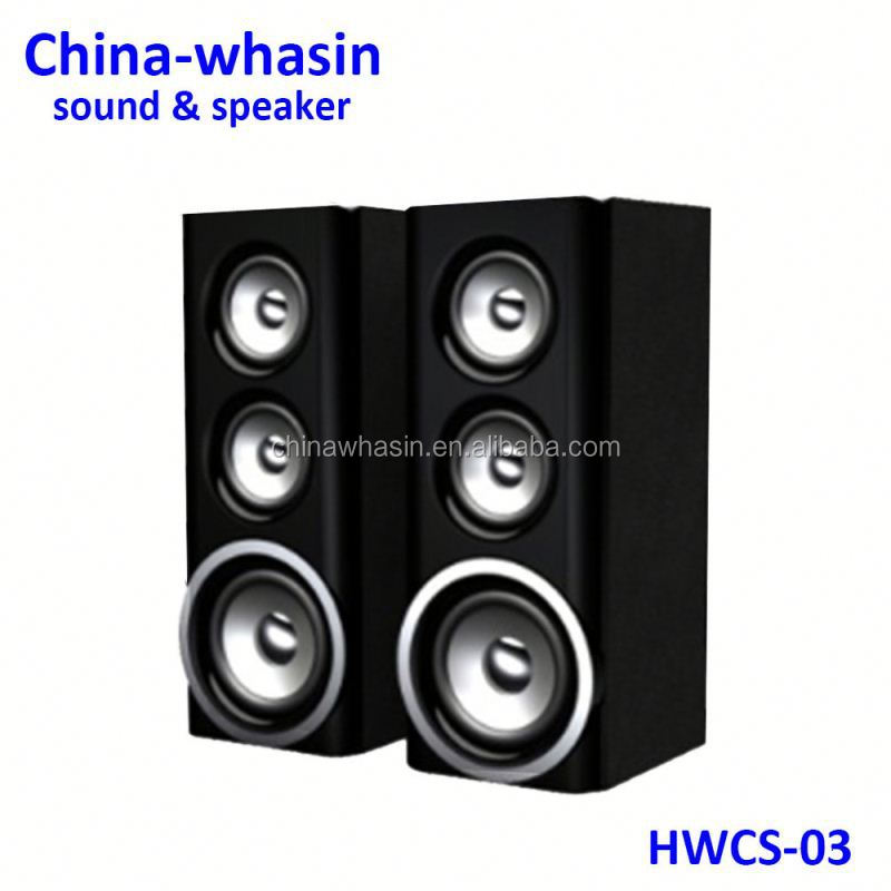 Usb sd drive fm mp3 player radio remote control dock speaker menara sistem home theater speaker yang kuat