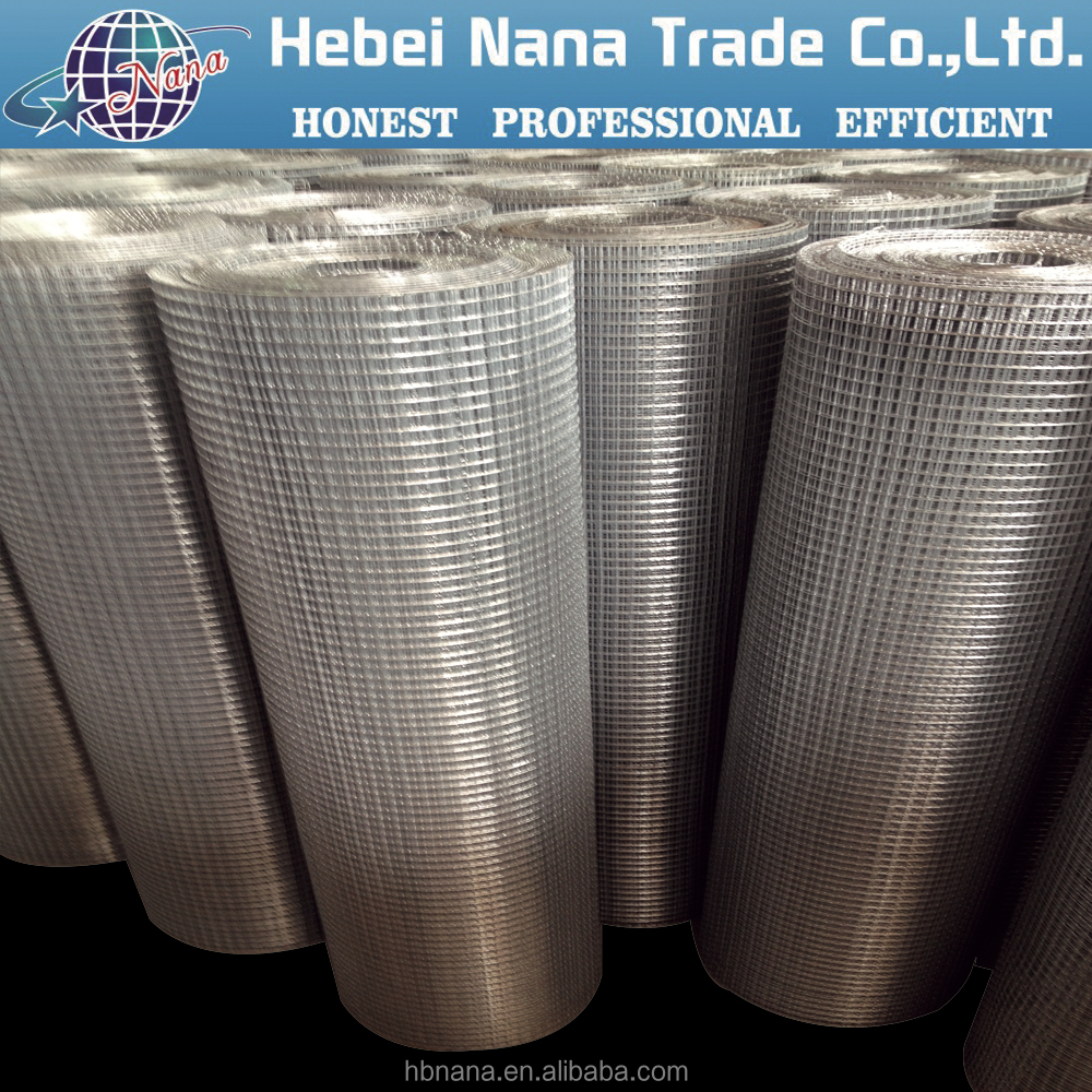 Hebei China factory direct sale pvc coated welded wire mesh roll