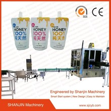 2017 CE certificate standup spout pouch filling machine / automatic spout pouch filling machine