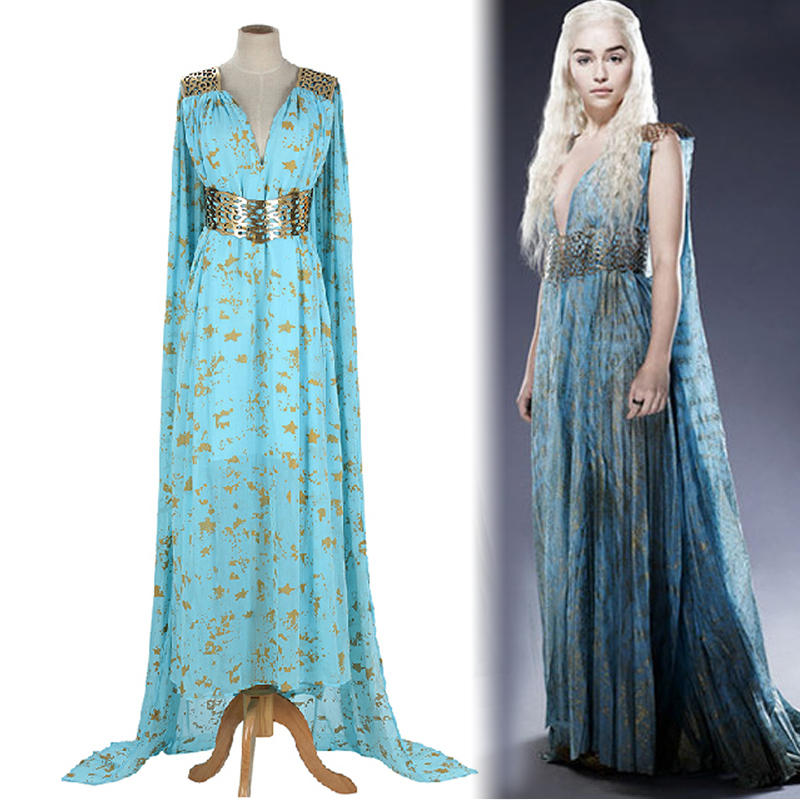 Game of Thrones Daenerys Targaryen Cosplay Costume ...