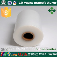 Xinhe bule and white lldpe stretch film for pallet packing made in china