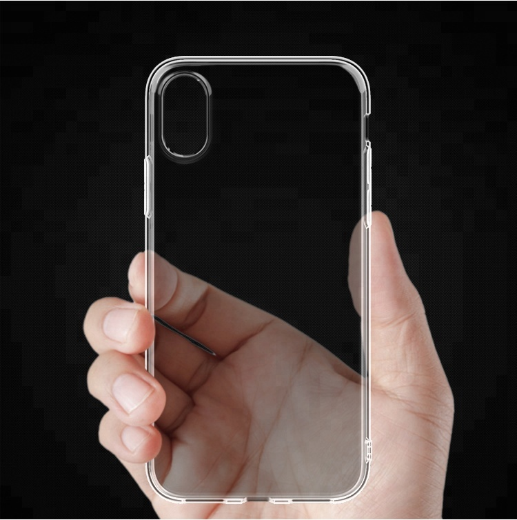 Wholesale new accessories high quality clear tpu soft shell hot selling mobile back cover transparent cellphone <strong>case</strong>
