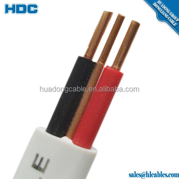 Copper Electric Wire 220v 3 Wire Flat Cable, Copper Electric Wire ...