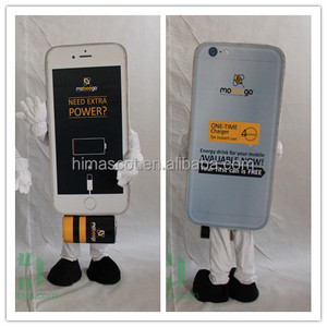 HI CE New style mobile phone mascot costume customized costume mascot