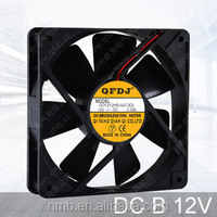 120*120*25mm 12v dc cpu cooling fan best selling cpu cooler axial fan