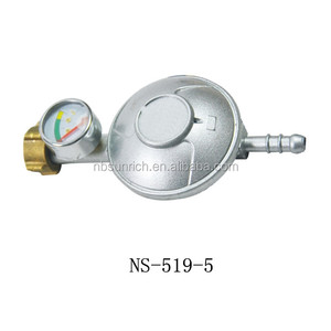 Butane Gas Regulator With Gas Level & Leak Indicator Gauge