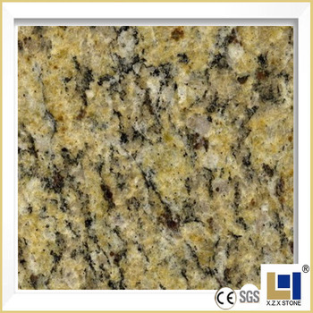 Santa Cecilia Yellow Granite Polished Tile Slab Countertop Price