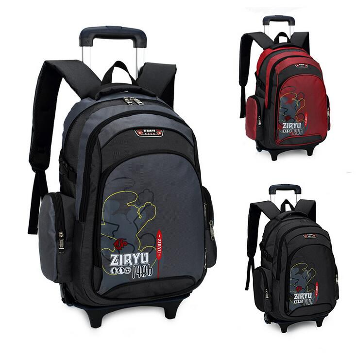 New children school bags mochila escolar backpack trolley bags for boys and girls school bag backpack kid bag removable &88375