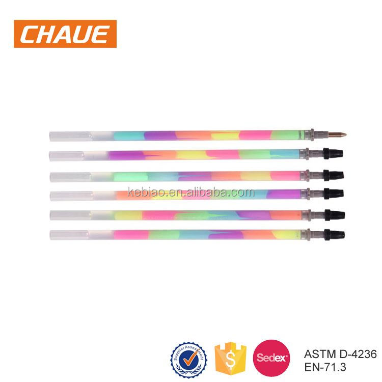 Attractive style quality assured office black blue pen refills