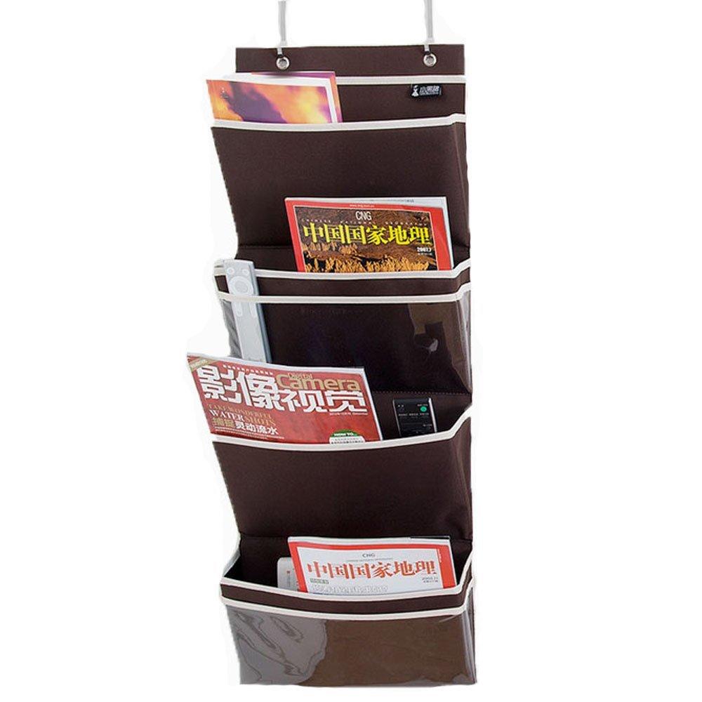 Get Quotations · Adona 4 Pockets Office Supplies Hanging Oxford Mail U0026  Files Organizer Bag Holder Over The Door