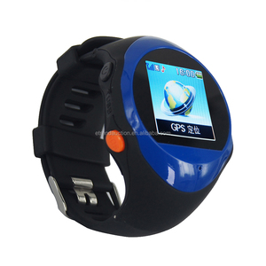Cheap Free Online Tracking Support Six Languages Wrist Watch Cell Phone And SOS function
