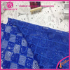 2016 Royal Blue Guipure Lace Fabric African Cord Lace Nigerian African Guipure Lace Fabric