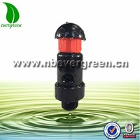 3/4'' and 1'' plastic pressure air release valve for inflating air