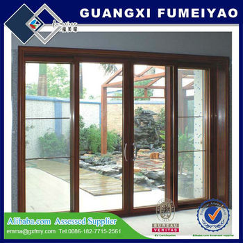 2017 New Design High Quality Anti Theft Used Commercial Lowes Sliding Glass  Patio Doors