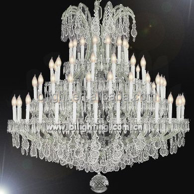 Hotel lobby opknoping luxe maria theresa kroonluchter verlichting custom grote maria theresa crystal verlichting