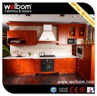 2013 WELBOM Best Selling Natural Maple Shaker Kitchen Cabinet