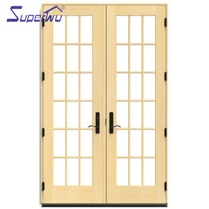Hot sale modern design villa fiberglass door entry door