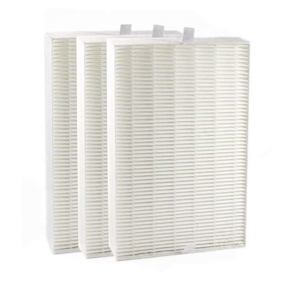 TBTeekk 3 Packs Air Purifier Filters. Compatible HRF-R2, HRF-R3, Filter R (HRF-R3, 3-Pack)