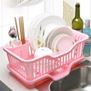 good quality plastic dish tray/easy assembly kitchen storage rack/OEM LOGO dish racks drain shenzhen manufacturer