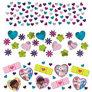 Doc McStuffins Confetti Birthday Party Value Pack Decoration (1 Piece), Multi Color, 1.2 oz.