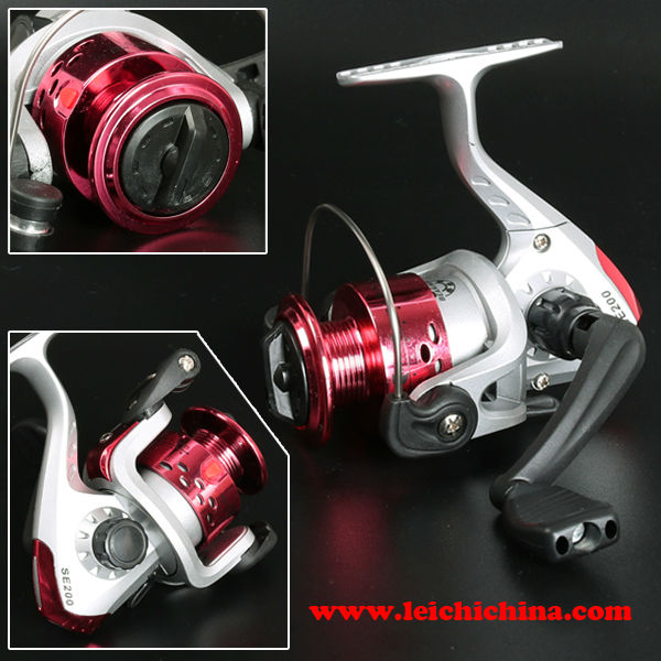 new design cheap small plastic spinning reel