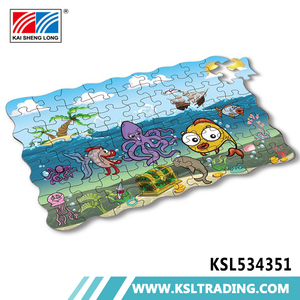 OEM 500pcs Children wholesale 45 pieces game cardboard for jigsaw puzzle