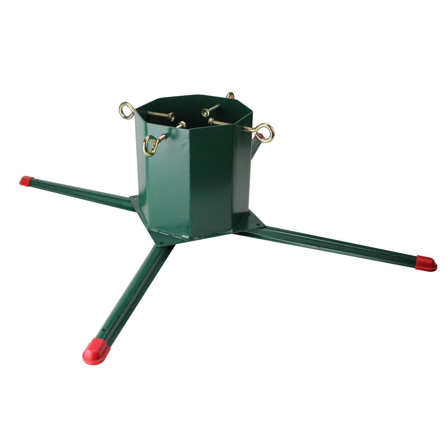 get quotations jack post heavy duty welded christmas tree stand for real live trees up to 14 - Lowes Christmas Tree Stand