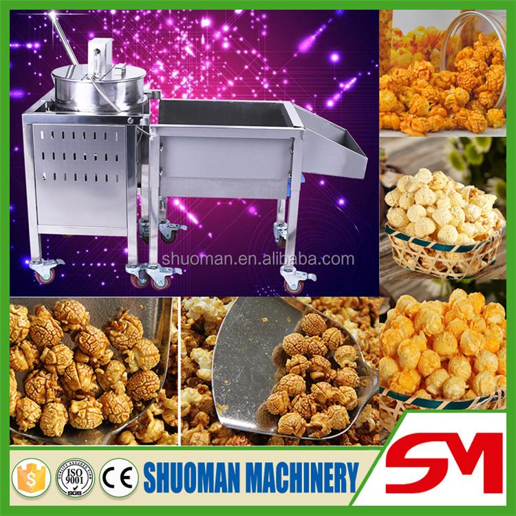 popcorn coating machine
