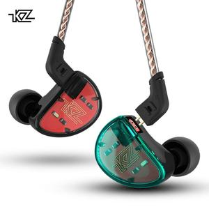 New 5BA Driver Earphone KZ AS10 in Ear Earphone Earbuds Headset Wired Earphone with Microphone
