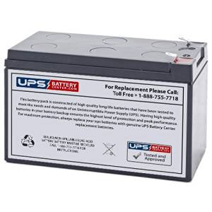 APC Back-UPS ES 650VA BE650BB (SLA) Replacement Battery- 12V 9Ah with F2 terminal