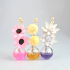 Colored Aromatic Sola Flower Reed Diffuser Set/ Colorful Fragrance Diffuser