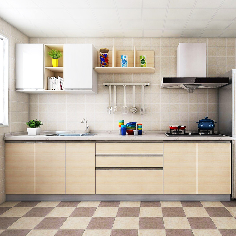 Solid Design Cherry Wood Kitchen Cabinets - Buy Solid Bamboo Wood Kitchen  Cabinets,Kitchen Cabinet Simple Designs,White Lacquer Kitchen Cabinets ...
