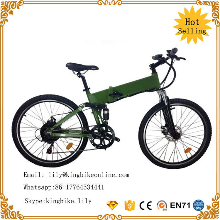 KB-TP20F-04 Electric Bicycle folding electric mountain fat bike