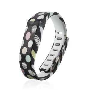patterned soft silicone wristband replacement for Fitbit Flex Pedometer